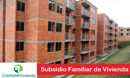 Subsidio Familiar de Vivienda