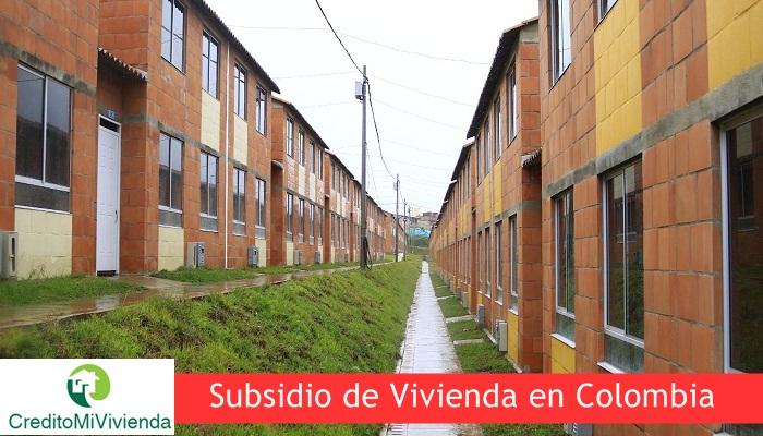 Subsidio de Vivienda en Colombia